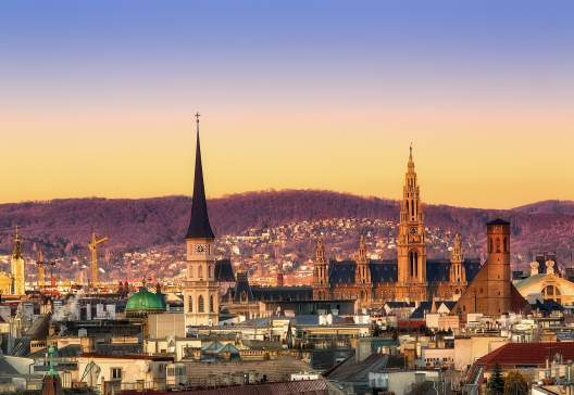 Vienna-sunset