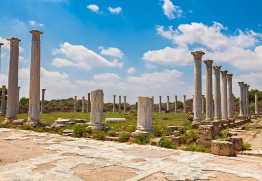 Salamis Ruins in Northern Cyprus 2