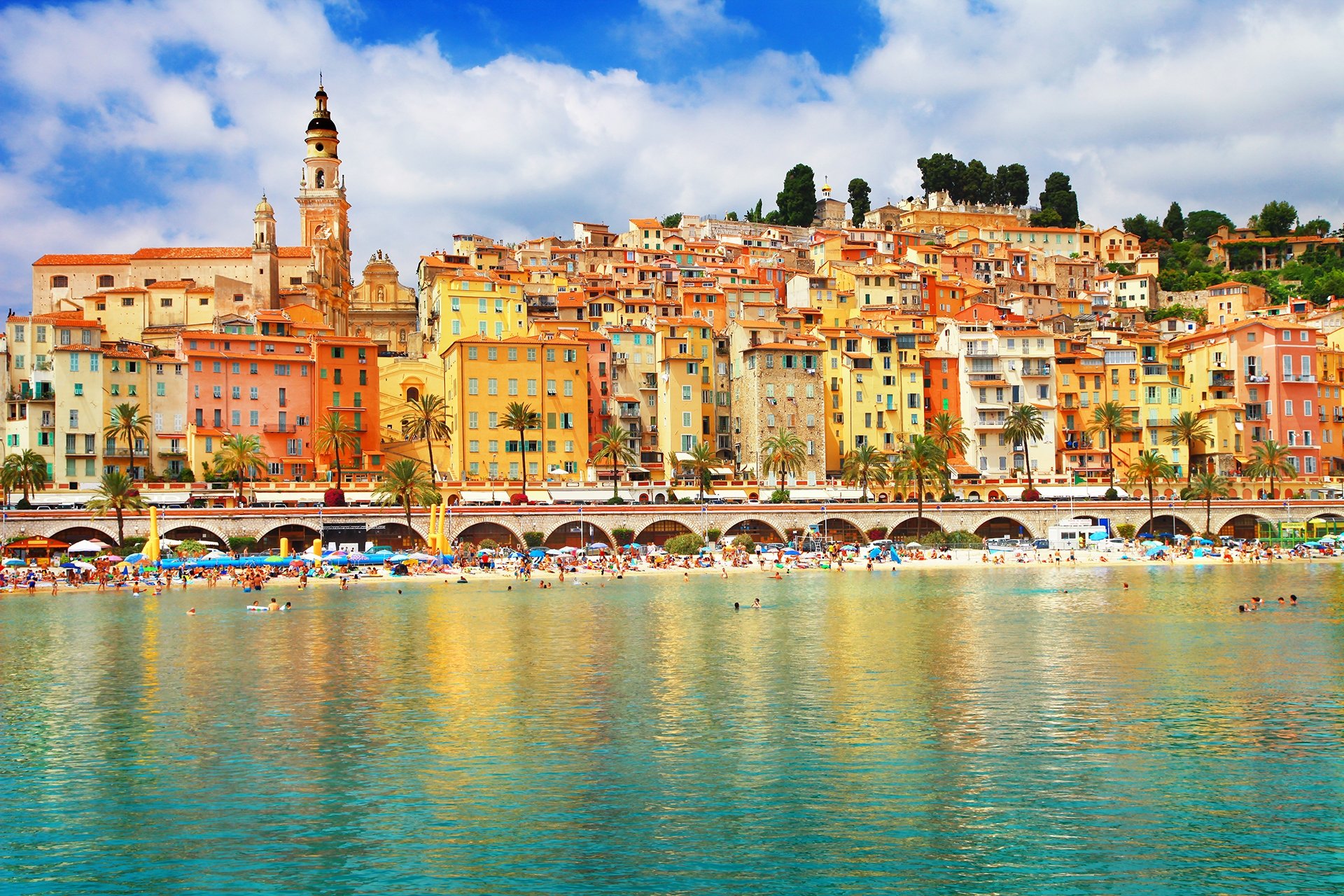 Sunny-Menton-south-of-France