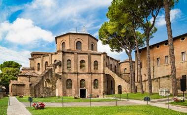 Basilica di San Vitale Ravenna region of Emilia Romagna Italy