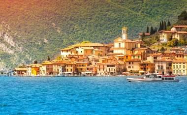 City-Peschiera-Maraglio.-Region-Lombardy-Province-Brescia-BS-in-Iseo-Lake.-Italy