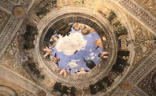 Ceiling camera degli sposi Mantua