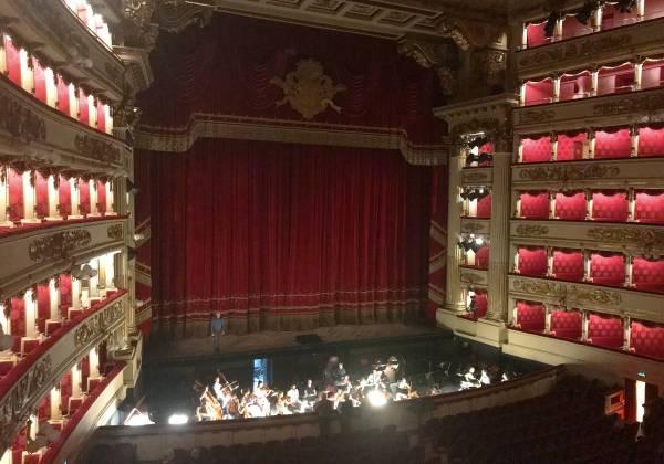 La Scala theatre interior