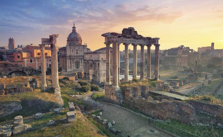 The-Forum-in-Rome_shutterstock_351471179_Rudy-Balasko