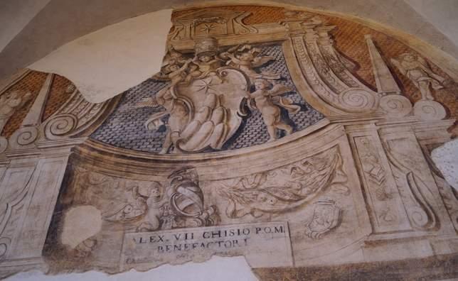Frescoes-spoleto