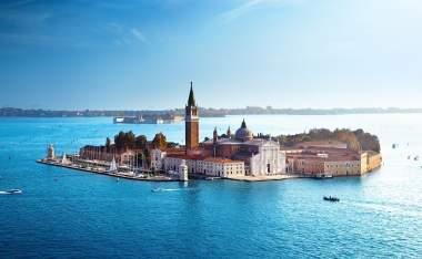 View-of-San-Giorgio-island-Venice-Italy