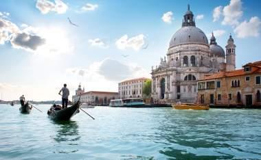 Old-cathedral-of-Santa-Maria-della-Salute-in-Venice-Italy