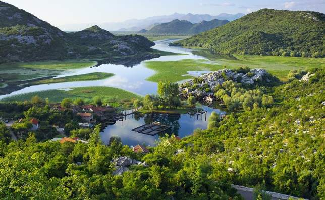 Karuc-Bay-in-Lake-Skadar-National-Park-Montenegro