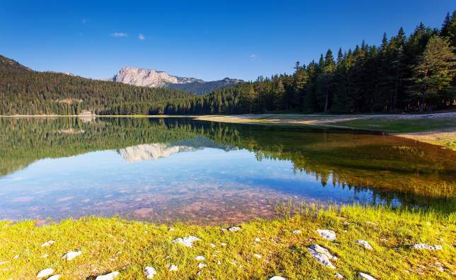 Black-lake-in-Durmitor-national-park-in-Montenegro-Europe