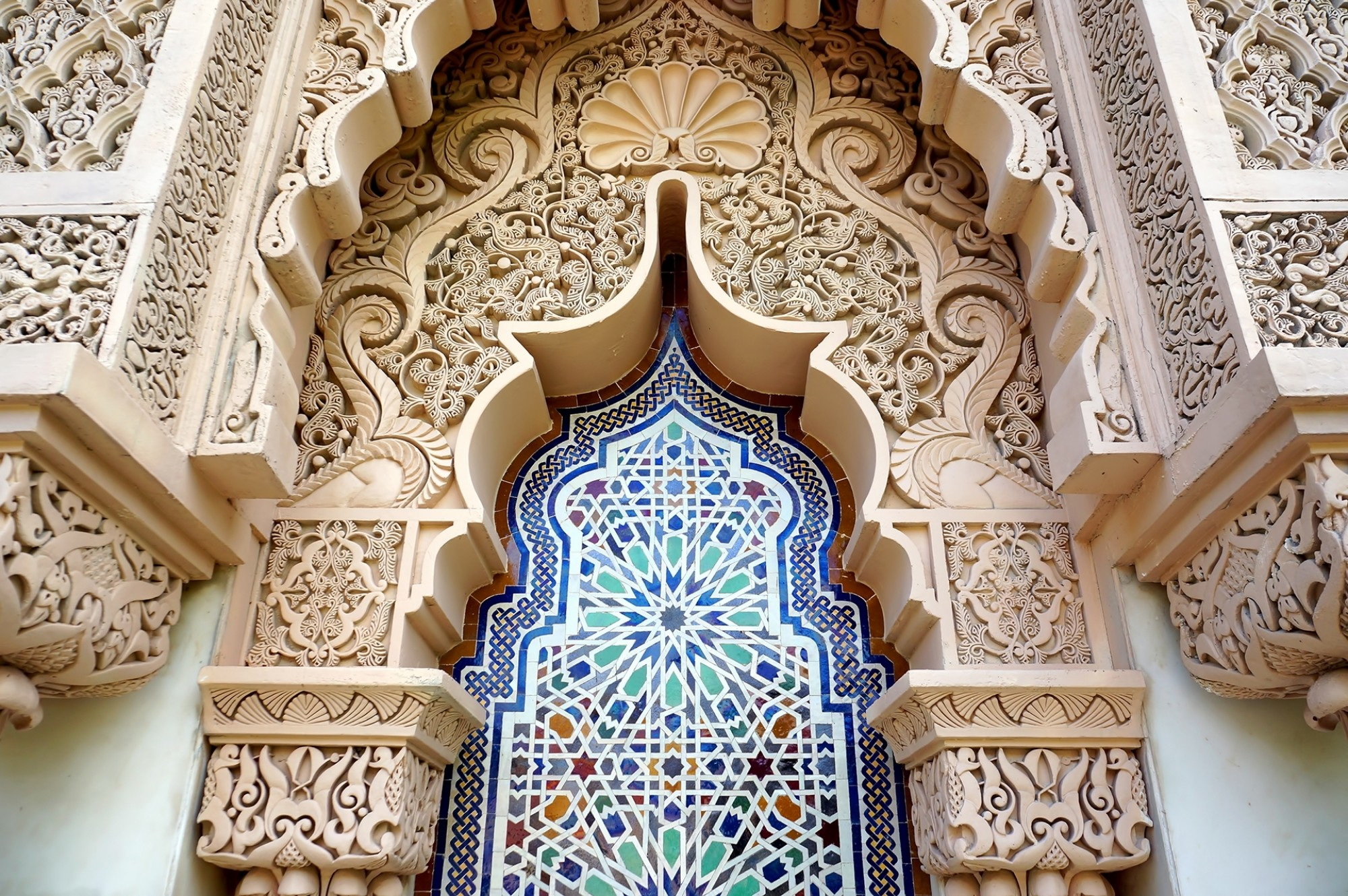 Moroccan architecture traditional desig
