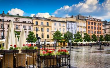 Krakow-Polands-historic-center-a-city-with-ancient-architecture