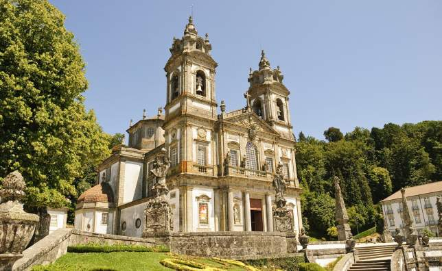Cathedral-of-Bom-Jesus-do-Monte-in-Braga-Portugal