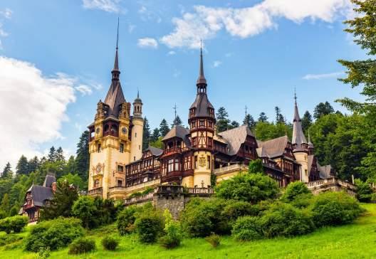 Peles castle Sinaia Romania