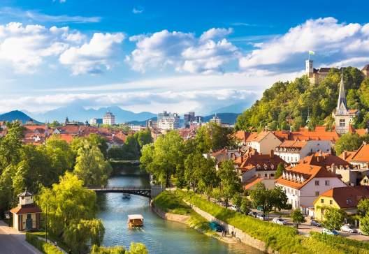 Cityscape-of-the-Slovenian-capital-Ljubljana