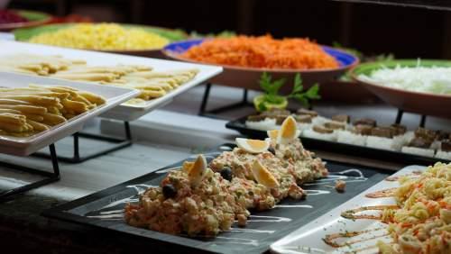 Golden Bahia de Tossa_30 BAH Comida hotel buffet ensaladilla