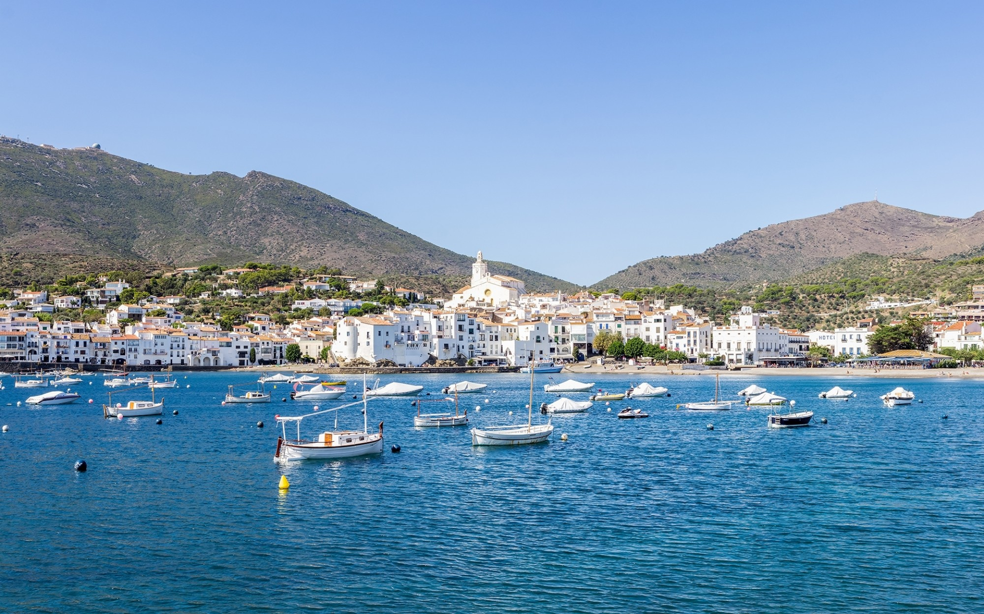 Cadaques coastal village of the mediterranean sea