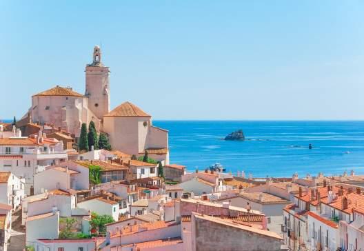Spain Catalonia Cadaques on the Costa Brava