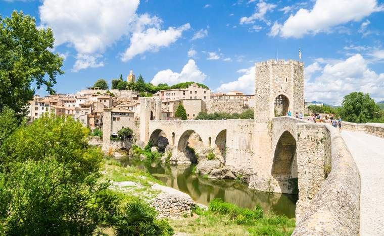 Besalu Catalonia Spain