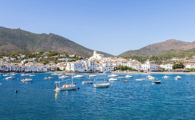 Cadaques coastal village of the mediterranean sea