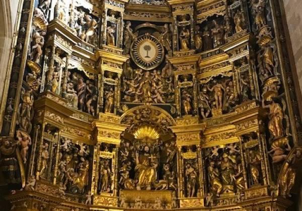 Santo-Domingo-de-la-Calzada-Cathedral-Altar