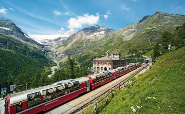 Sts8562 Bernina Express Poschiavo STST STTP Marcus Gyger