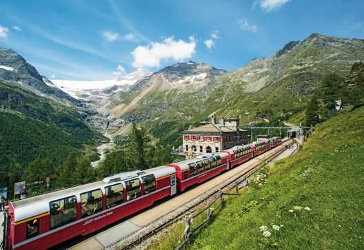 Sts8562 Bernina Express Poschiavo STST STTP Marcus Gyger