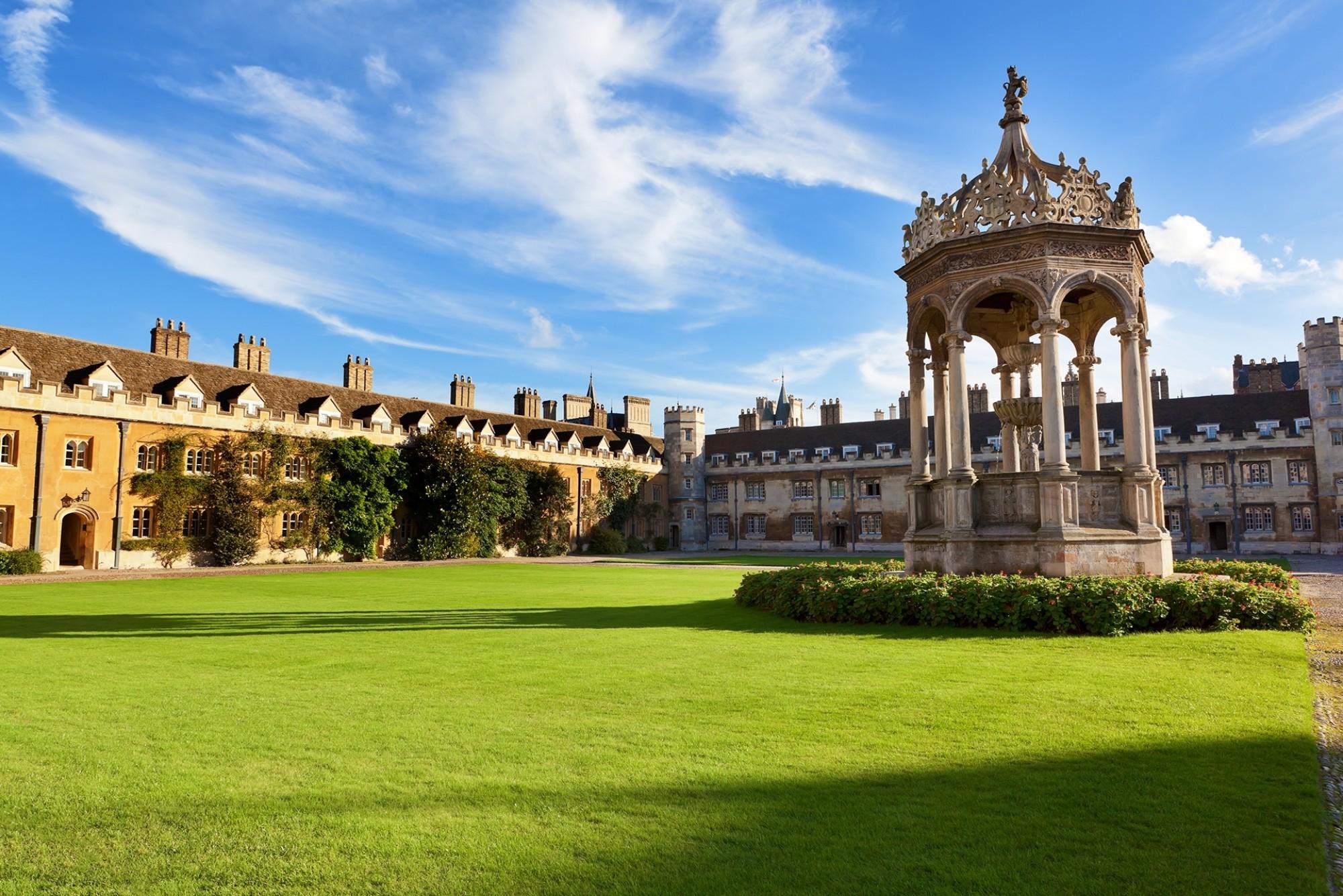 Trinity-College-in-Cambridge-UK