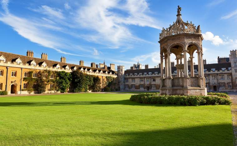 Trinity-College-in-Cambridge-UK