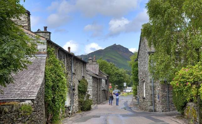 Grasmere-village-the-Lake-District-Cumbria-England