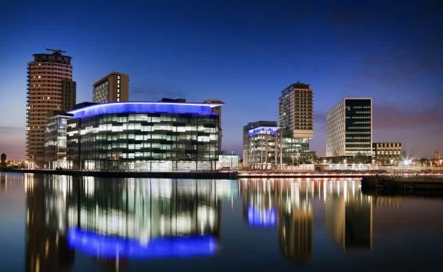 VE12203 Media City UK at Salford Quays Visit England Marketing Manchester