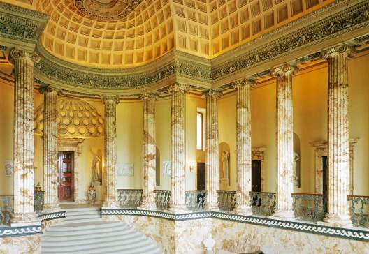 Holkham-Hall-the-Marble-Hall