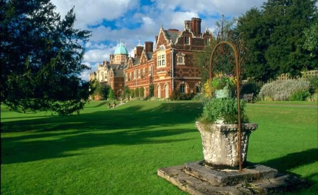 House-from-Lake- -Sandringham-Estate