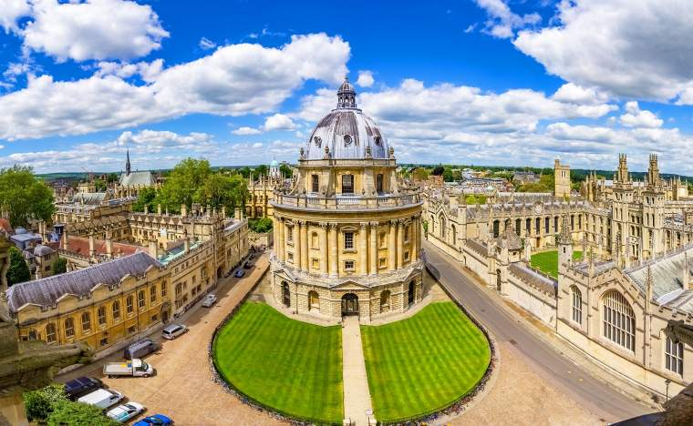 Bodleian Library and All Souls College Oxfordshire