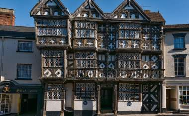 Feathers-hotel-in-Ludlow-South-Shropshire-a-landmark-historic-building
