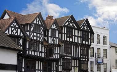 Street in Ludlow England