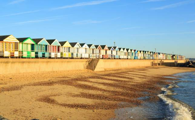 Beach-huts-at-Southwold Suffolk-England