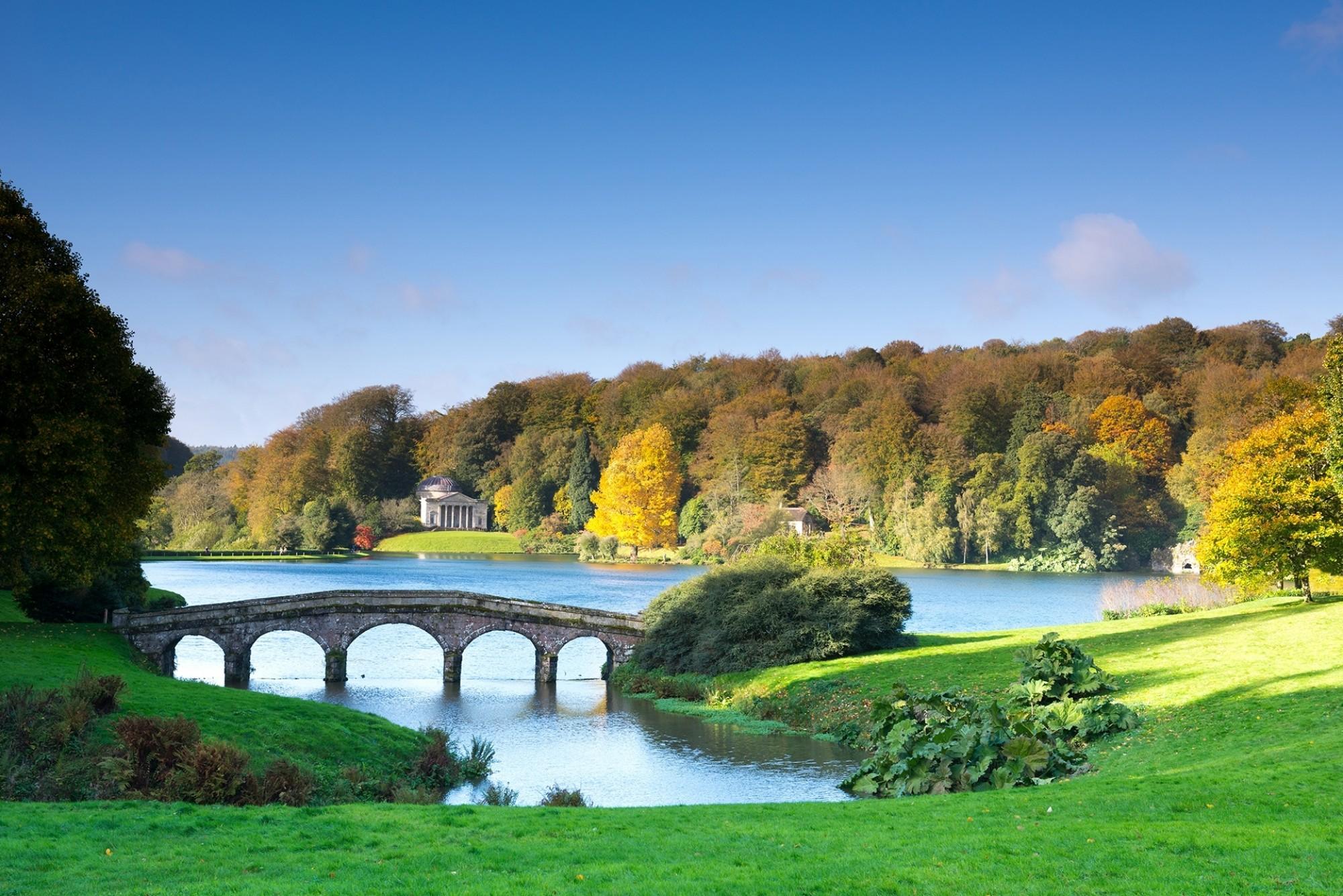 Stourhead Park ENGLAND