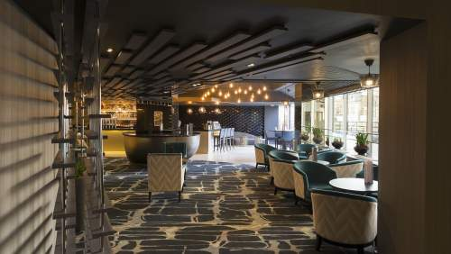 Crowne Plaza Harrogate bar lobby