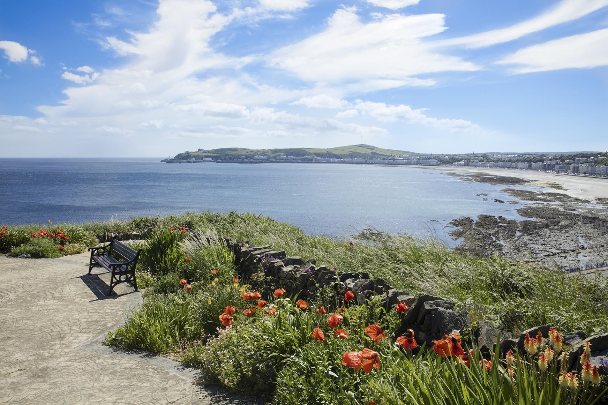Douglas Bay Isle of Man British Isles