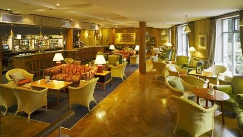 Ballymascanlon House Hotel bar