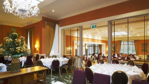Ballymascanlon House Hotel restaurant 2