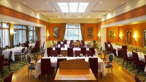 Ballymascanlon House Hotel restaurant