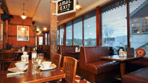 Clifden Station House Hotel signals bar dining 01