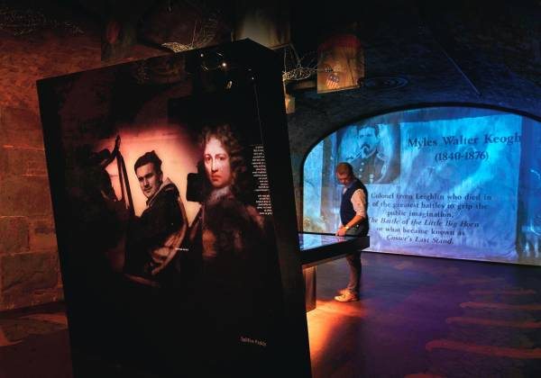 EPIC The Irish Emigration Museum Conflict Gallery