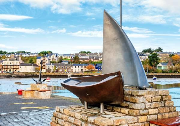 View of Kinsale harbor County Cork Republic of Ireland