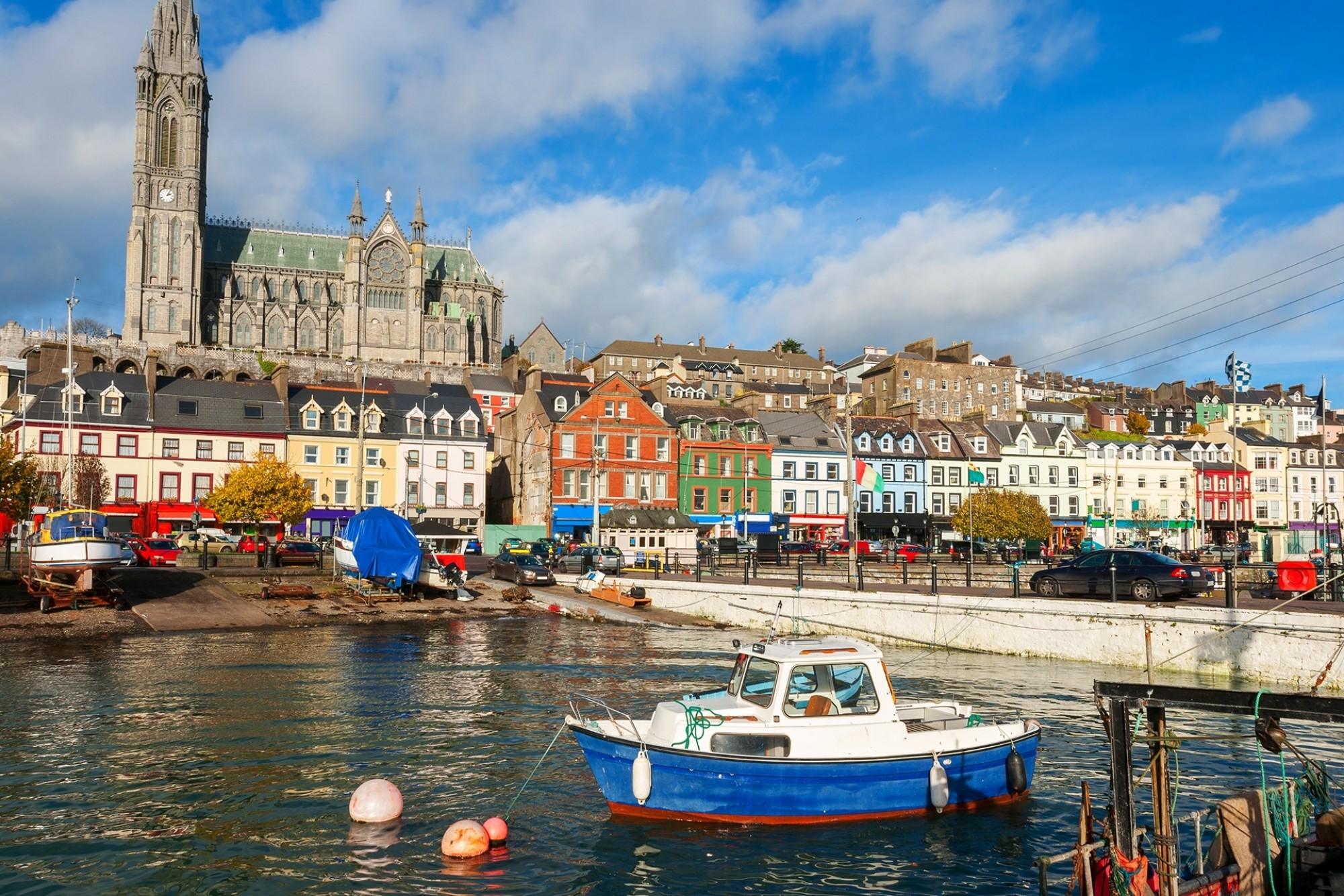 The harbour at Cobh Co Cork Ireland Europe