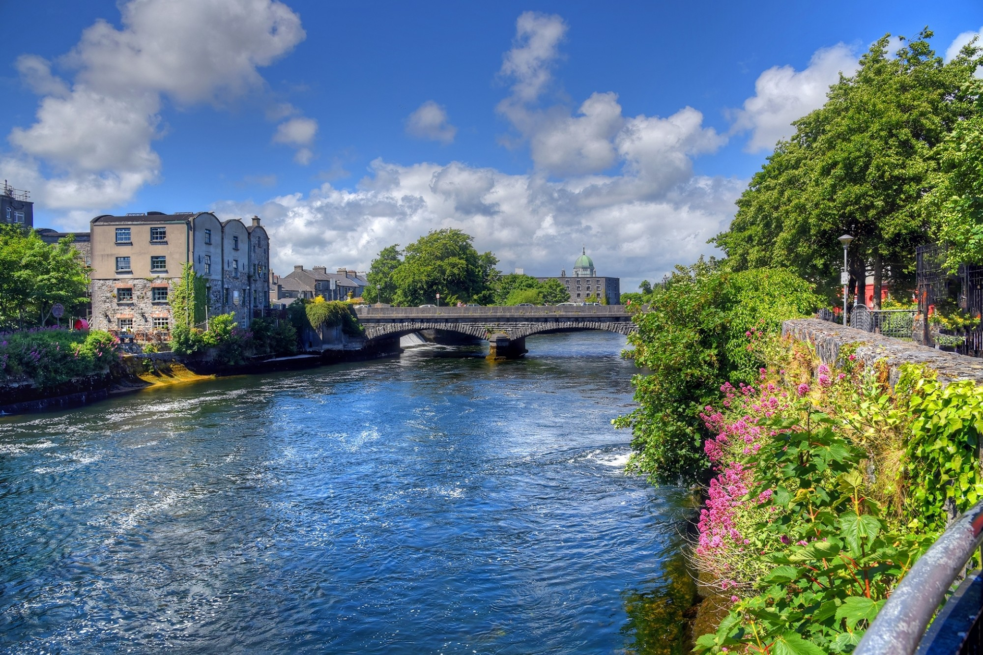 Galway Ireland and the River Corrib