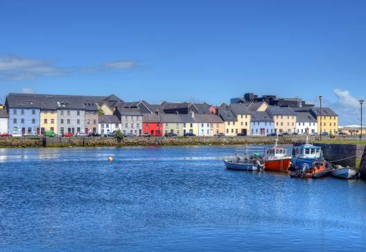 The Claddagh Galway in Galway Ireland