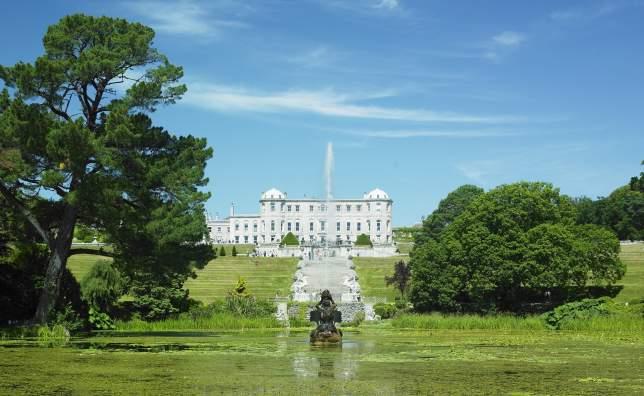 Powerscourt House with gardens County Wicklow Ireland