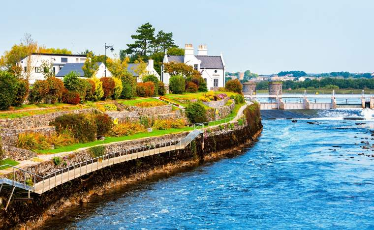 Beautiful landscape of Galway Ireland